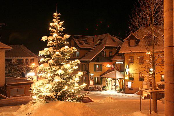 Hotel Bären im Winter